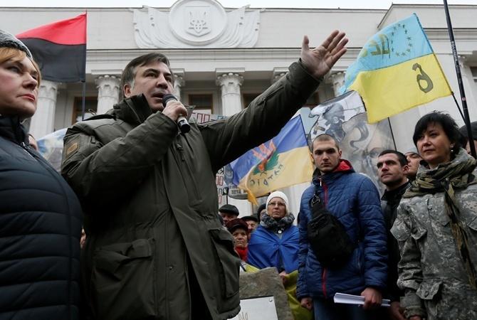 Саакашвили отыскал себе новейшую работу вЕС