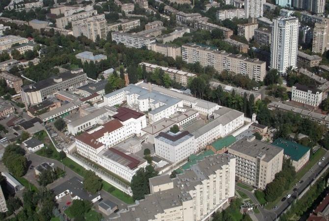 ВЛукьяновском СИЗО украинской столицы произошел смертоносный инцидент