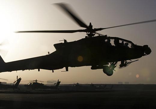 ВГермании вертолет врезался в вышку аэропорта