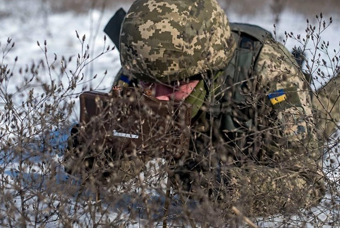 Штаб АТО: Засутки наДонбассе умер один украинский военный