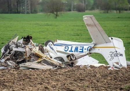 ВГермании столкнулись два маленьких  самолета: есть жертвы