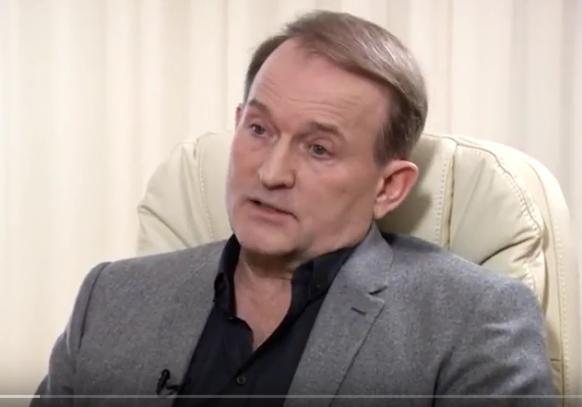 Отом, что оннесчитает Российскую Федерацию агрессором, объявил Виктор Медведчук