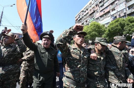 ВАрмении снова начались протесты, занятия в университетах приостановлены