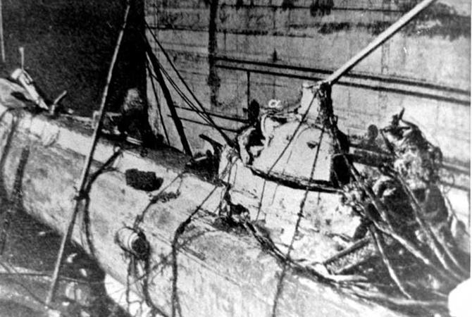 Уберегов Севастополя нашли погибшую русскую подлодку «Камбала»