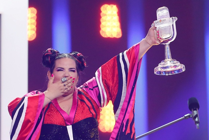 На  Евровидении-2018  победила Нетта из Израиля