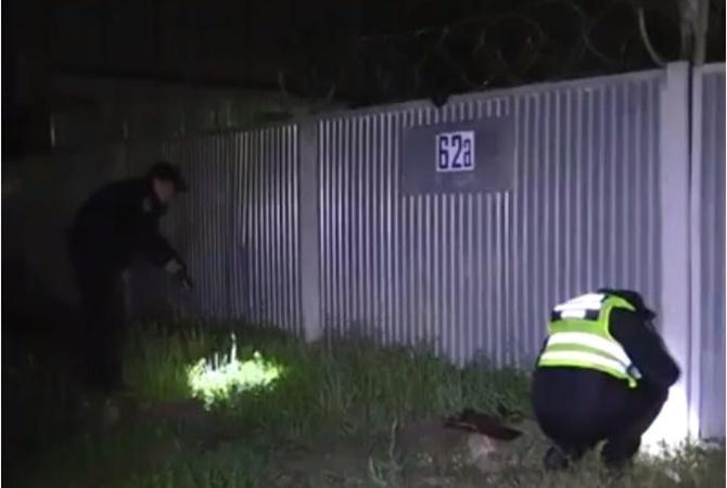 Натерриторию склада вКиеве бросили две взрывчатки
