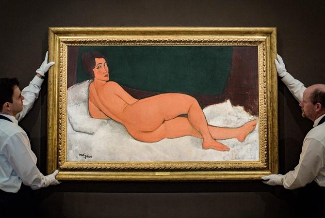 Полотно Модильяни: Sotheby's реализовал свою самую дорогую картину