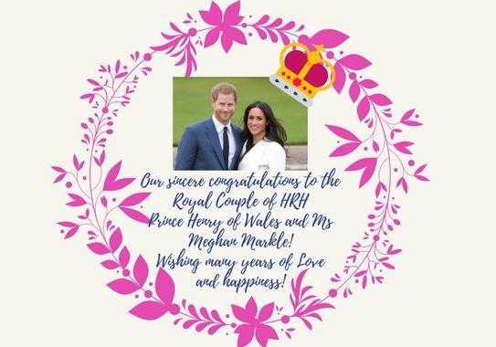 Посольство Украины вБритании поздравило принца Гарри иМеган Маркл сосвадьбой