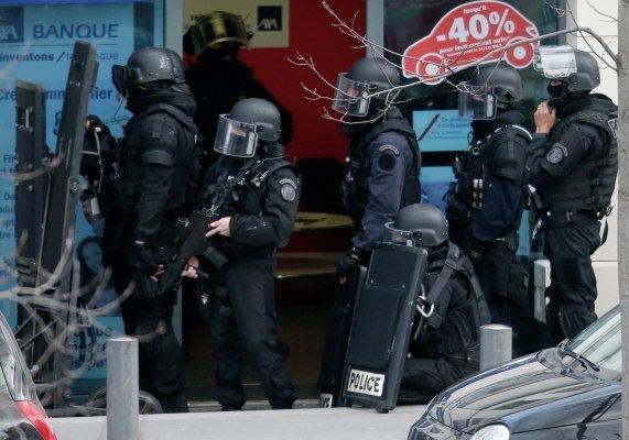 Парижская полиция задержала захватчика заложников