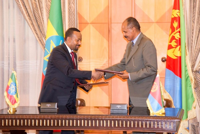 Эфиопия иЭритрея заключили мир