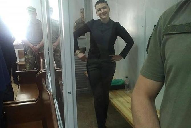 Савченко снова объявила голодовку взнак протеста против решения суда