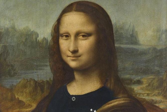 Вчесть победы Франции наЧМ-2018 вЛувре «переодели» Мону Лизу