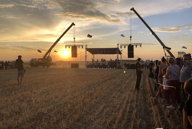 «Бумбокс» сыграли концерт наадмингранице сКрымом: размещены яркие фото ивидео