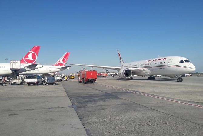 Ваэропорту Стамбула столкнулись два самолета