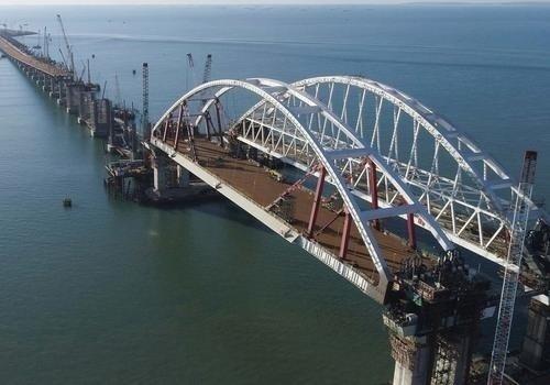 СБУ: оккупанты строили Керченский мост изукраинского щебня