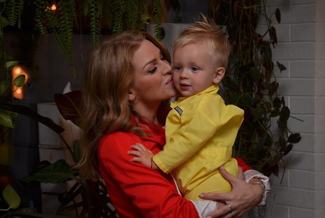 Звезда  Дизель Шоу  показала своего сына