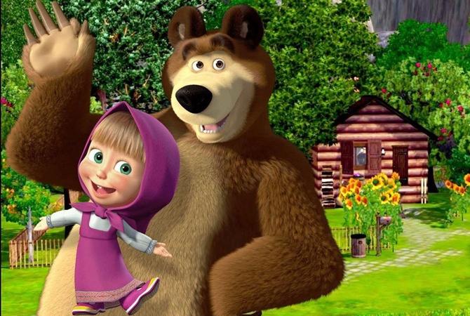 Times написали о «путинской пропаганде» в мультике «Маша и Медведь ...