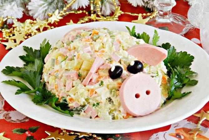 Пошаговые рецепты на Новый год Свиньи