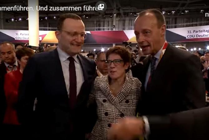 Главой ХДС стала сторонница Меркель— Аннегрет Крамп-Карренбауэр