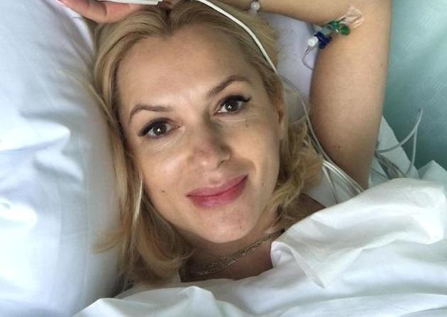 45-летняя Мария Порошина стала мамой в пятый раз