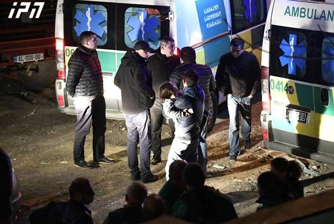 Взрыв в Тбилиси погибли четыре человека объявлен траур