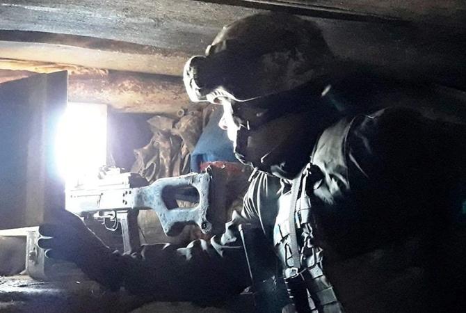 НаДонбассе бойцы ВСУ вответ на смерть побратима уничтожили шестерых боевиков