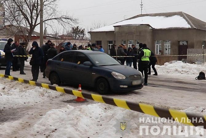 В Харькове средь бела дня убили таксиста