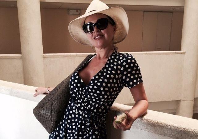 47-летняя Анастасия Заворотнюк родила дочь Анастасия Заворотнюк
