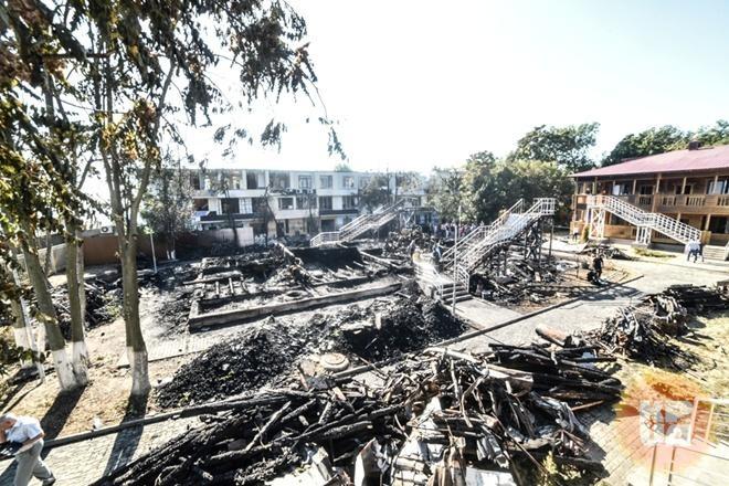 Независимые эксперты установили причину пожара в лагере  Виктория
