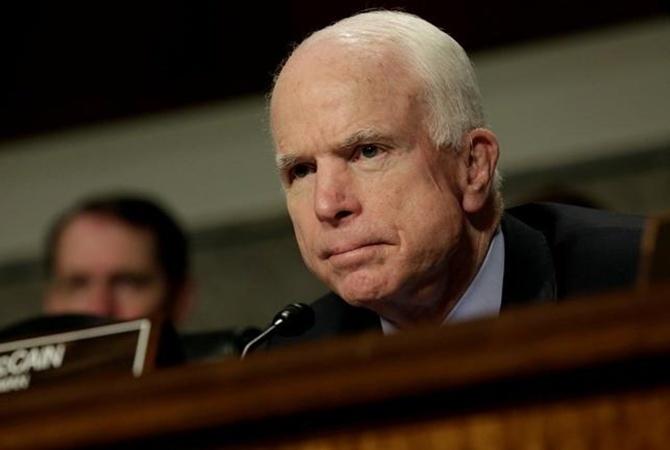 Имя сенатора Маккейна присвоено улице в Киеве