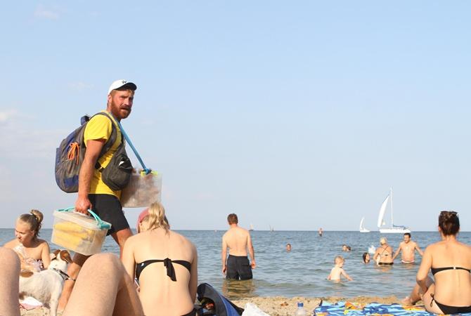 Черное море под Одессой больше не зеленое