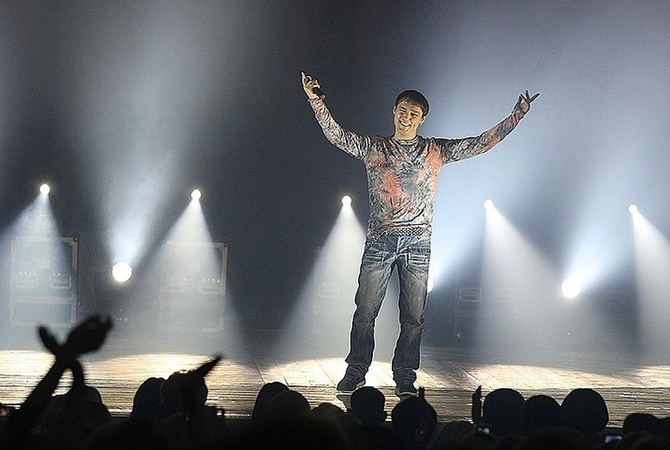 Юрия Шатунова перед концертом в России забрала'скорая Фото Михаил ДЕНИСОВ