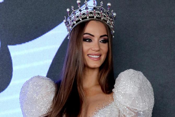 """Как выглядит платье для """"Мисс Украины 2019"""" за 10 тысяч долларов"""