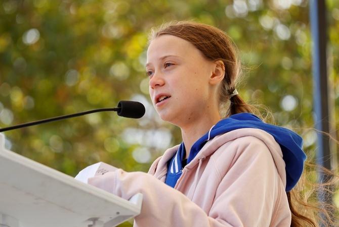 Грета Тунберг опоздала на климатический саммит ООН в Мадриде