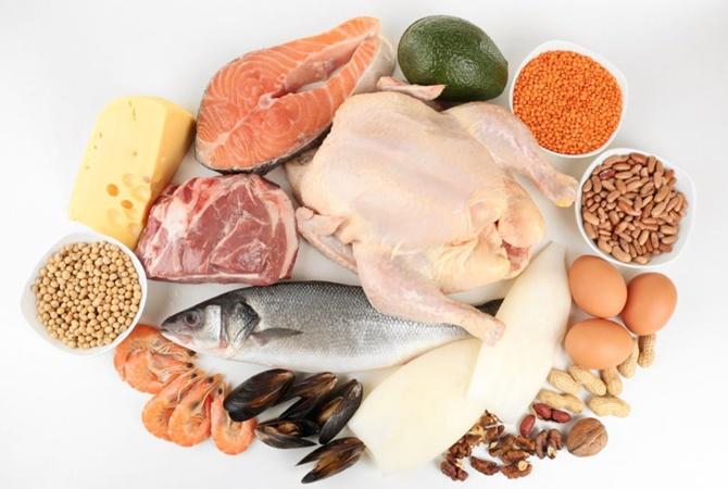Топ-20 продуктов с высоким содержанием белка
