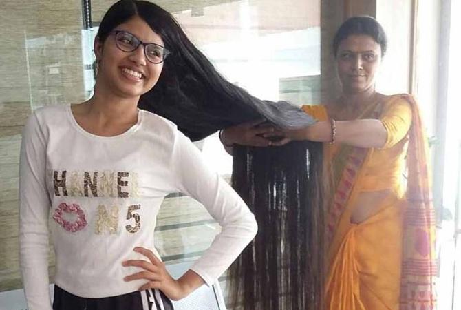 Индианка побила собственный рекорд в книге Гиннеса по длине волос