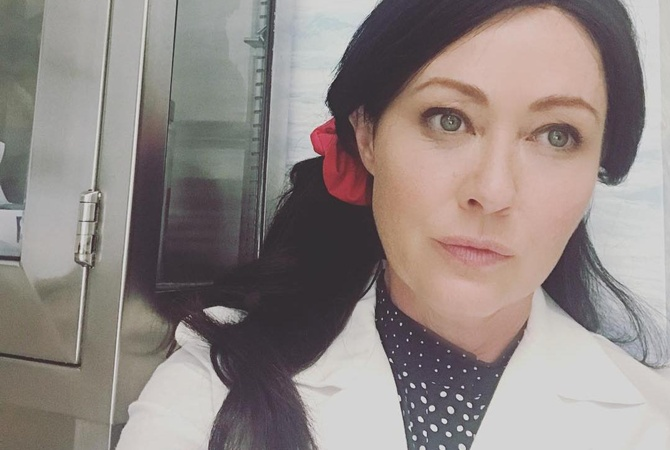 Шеннен Доэрти о борьбе с раком: Сказать, что у меня стресс, — это не сказать ничего
