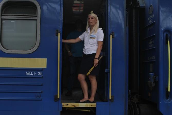 Украинский поезд-рекордсмен перевез больше миллиона пассажиров за год