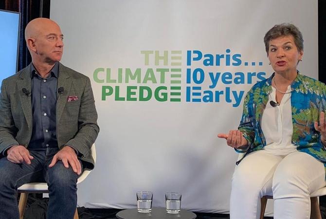 Джефф Безос зібрався фінансувати борців зі змінами клімату