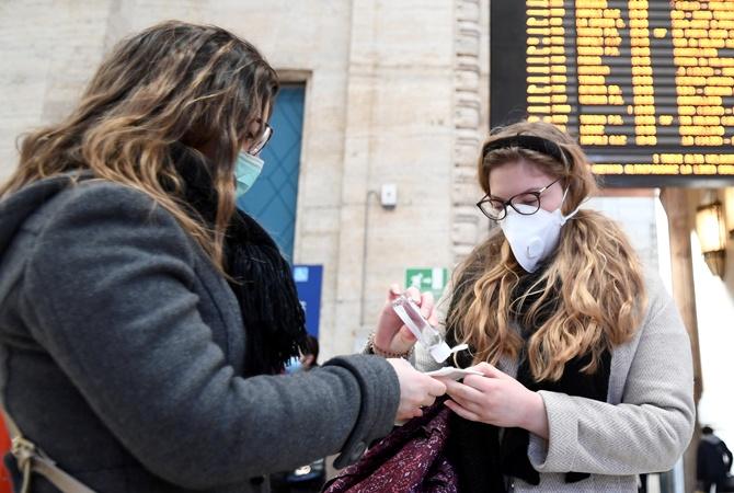 Украина решила мерить температуру у пассажиров из Италии