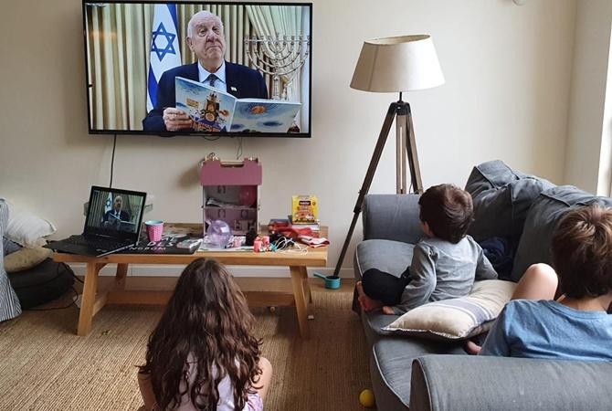 Президент Израиля читает детям сказки онлайн — чтобы их родители отдохнули