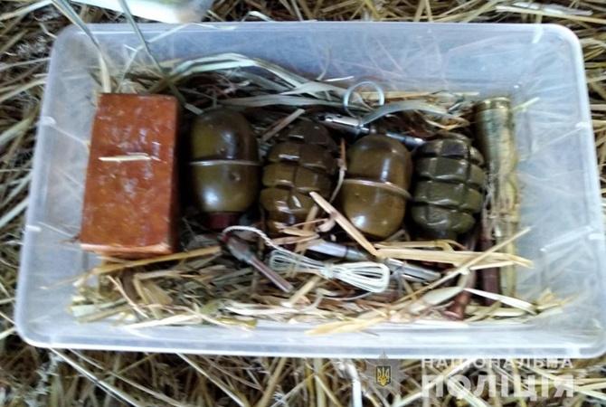 Под Киевом у школьников, которые украли мопед и велосипед, нашли гранаты