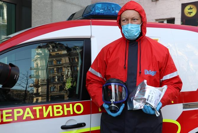 Германия передала Украине оборудования для борьбы с коронавирусом на сумму 175 тысяч евро