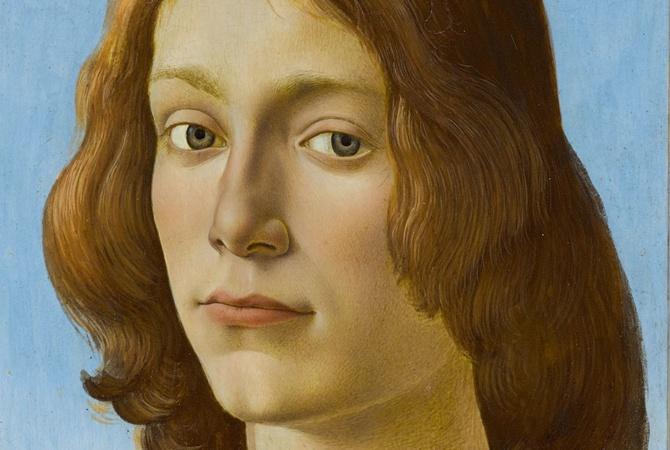 Редкий портрет кисти Боттичелли продут на аукционе