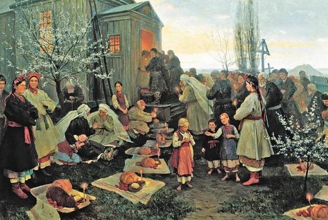 Пасхальный стол по-староукраински: ягненка фаршировали миндалем, а поросенка кашей