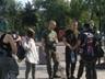 Ты что, против Украины?  - в центе Киева девушку избили за зеленый цвет волос и кулон анархиста