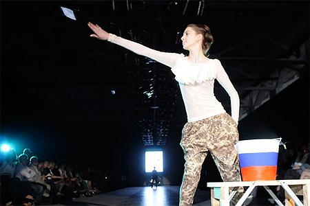 Скандал на львовской неделе моды: Из-за антироссийской выходки украинского дизайнера Вячеслав Зайцев в знак протеста покинул показ [Фото, видео] фото 2